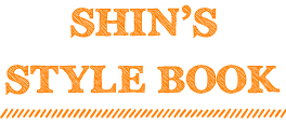 shins style book